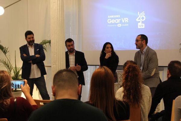 los40 presentan junto a samsung su primera aplicacin de realidad virtual