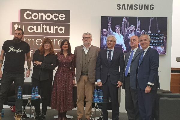 samsung organiza una mesa redonda para reflexionar sobre el papel de la tecnologa en el fomento de la cultura