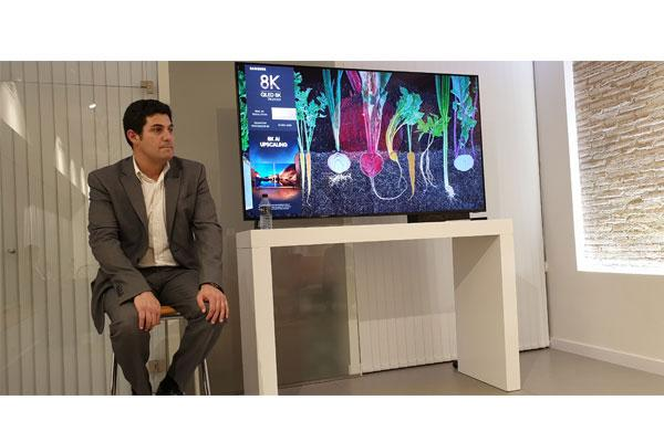 samsung presenta sus nuevos televisores qled 8k con ia
