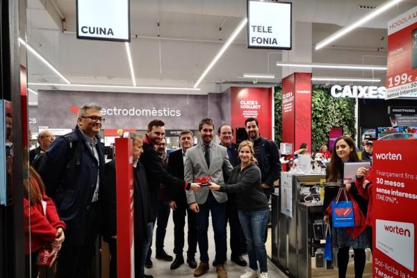 worten ampla su presencia en catalua con una nueva tienda en lloret de mar