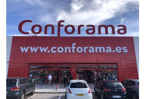 conforama abre su primera tienda en cdiz