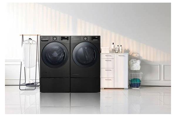 lg marca tendencia gracias a la gran capacidad de sus lavadoras y secadoras