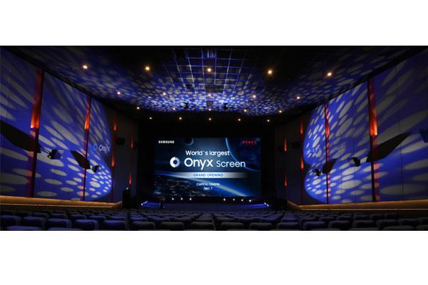 samsung presenta la pantalla de cine led onyx ms grande del mundo en el capital cinema de beijing
