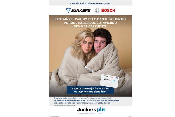 junkers premia con hasta 180 euros la instalacin de sus calderas de condensacin
