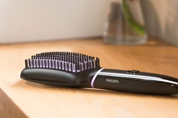 cuida y protege tu cabello con el nuevo cepillo alisador philips stylecare