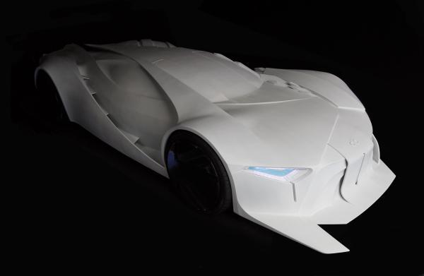 desarrollan un prototipo de automvil creado mediante impresin 3d a escala 11