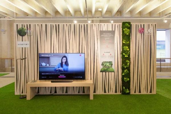 lg sorprende con todas sus soluciones eco para el hogar del maana en madrid design festival