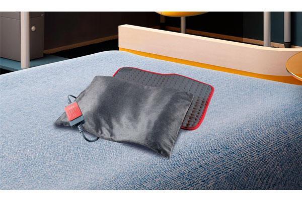 las almohadillas elctricas ofrecen calor uniforme y permiten escoger el nivel de intensidad