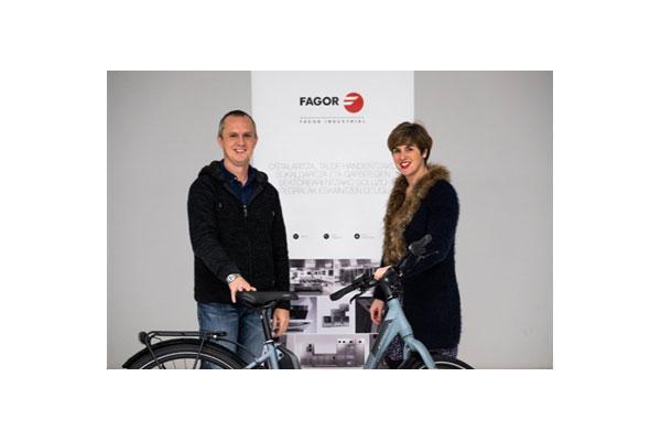 fagor industrial se ala con orbea para fomentar que sus empleados cambien el coche por la bicicleta elctrica