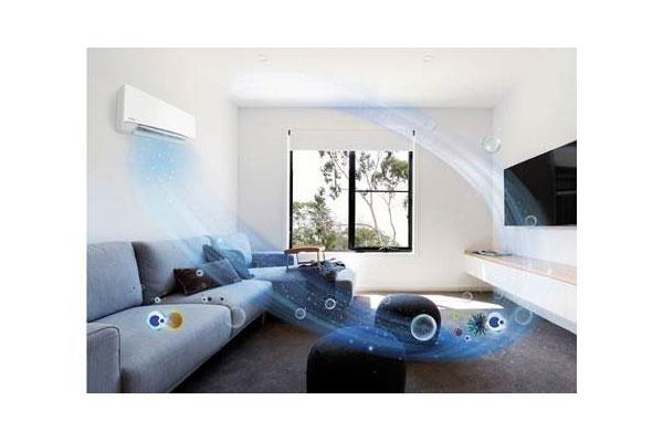 nanoetm x purifica el aire para eliminar las partculas de polen del hogar