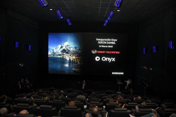 samsung presenta el primer cine led onyx en espaa