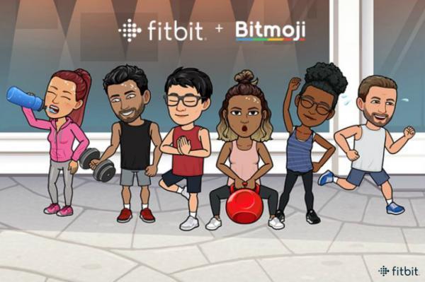 fitbit y snap lanzan la primera esfera de reloj bitmoji para los smartwatches de fitbit
