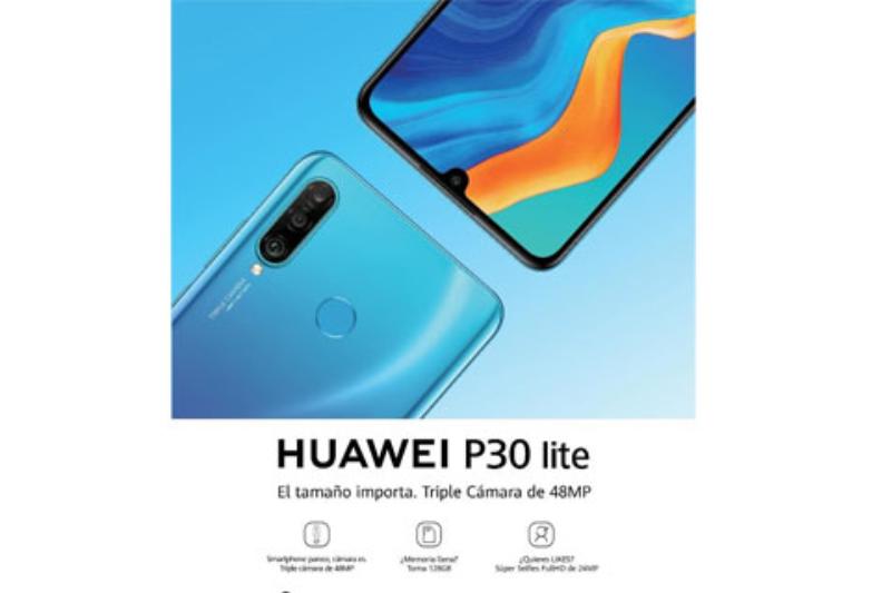 el nuevo huawei p30 lite incorpora una cmara ia de tres lentes y resolucin de 48mp