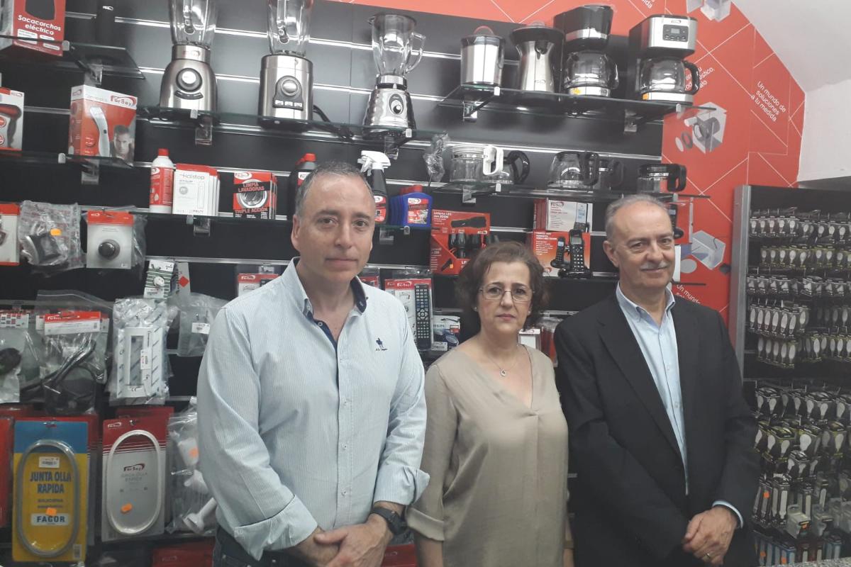 fersay inaugura un nuevo corner en villafranca de los barros badajoz