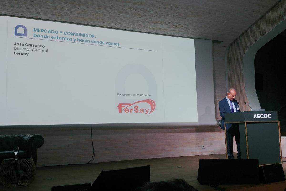 fersay patrocina el 10 congreso de aecoc de bienes tecnolgicos de consumo