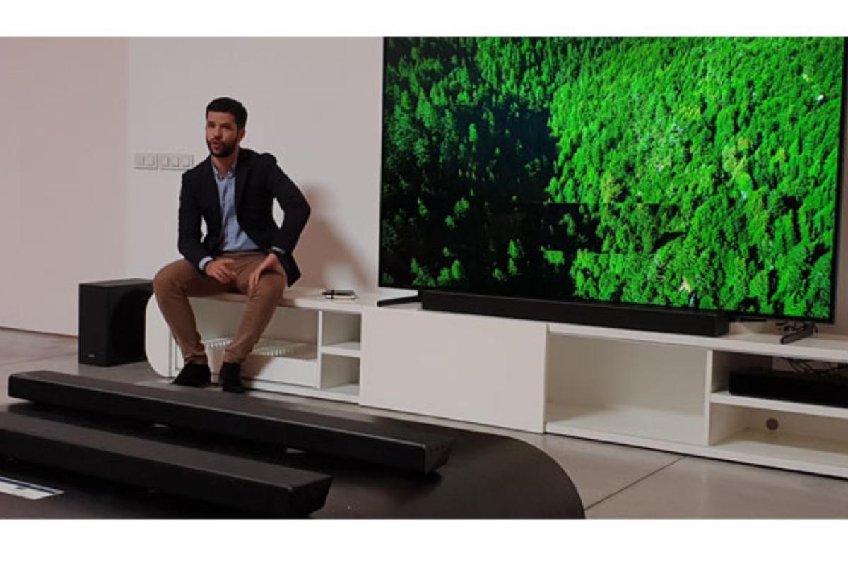 las nuevas barras de sonido de samsung estn equipadas con tecnologa harman kardon y optimizadas para televisores qled