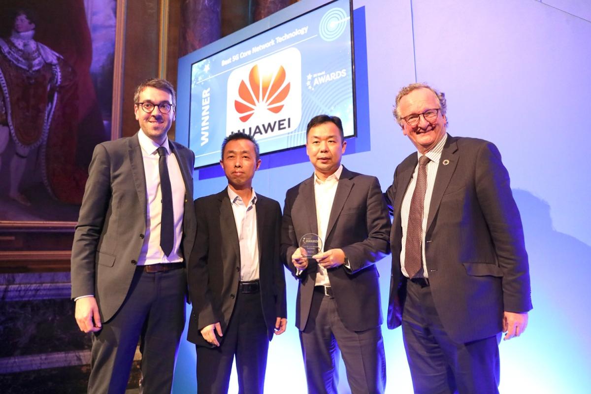 huawei galardonada con el premio mejor tecnologa de ncleo de red 5g