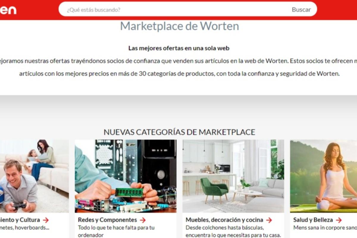 worten lanza en espaa su marketplace y renueva su web