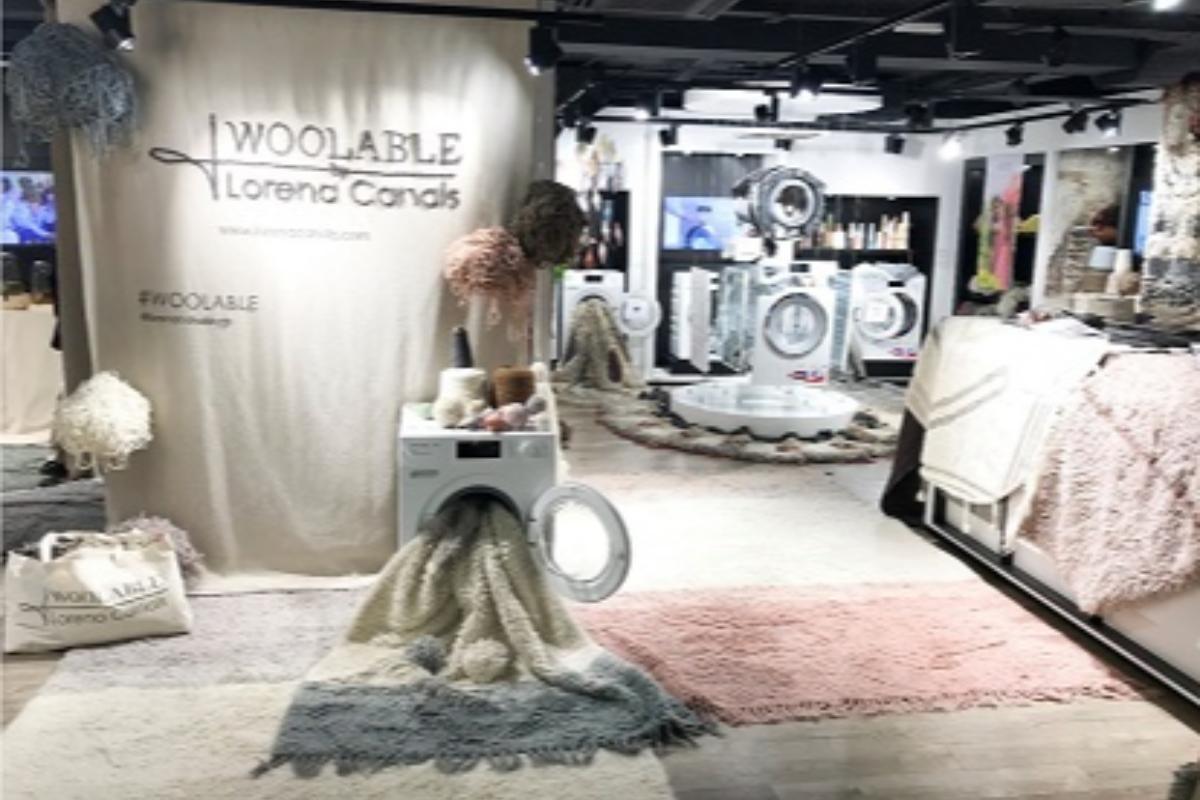 miele acoge la presentacin de la nueva coleccin de alfombras lavables de lorena canals