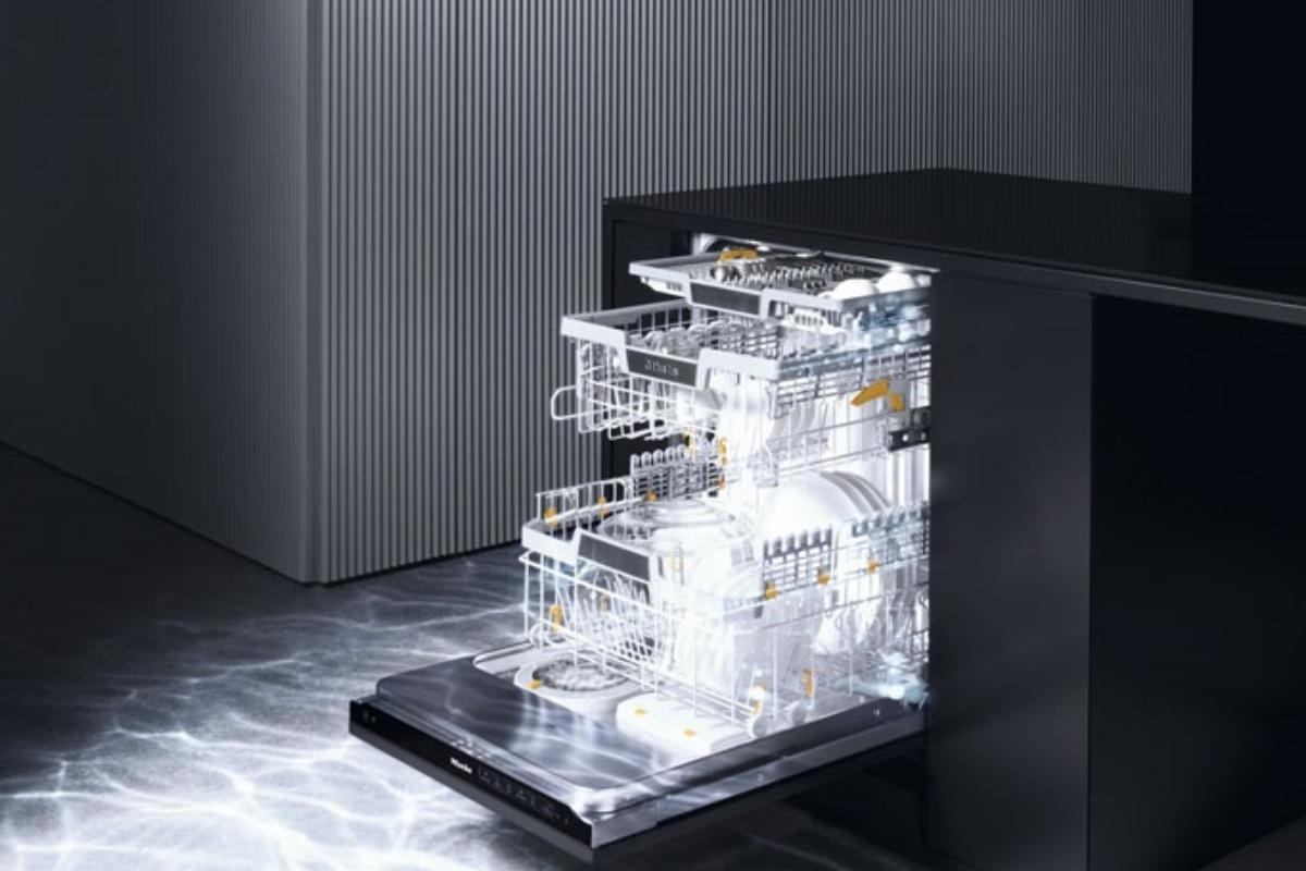 miele crea el primer lavavajillas autnomo del mundo