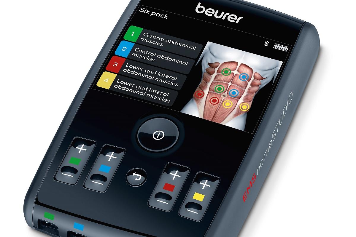 beurer lanza el nuevo electroestimulador em95 el ems homestudio