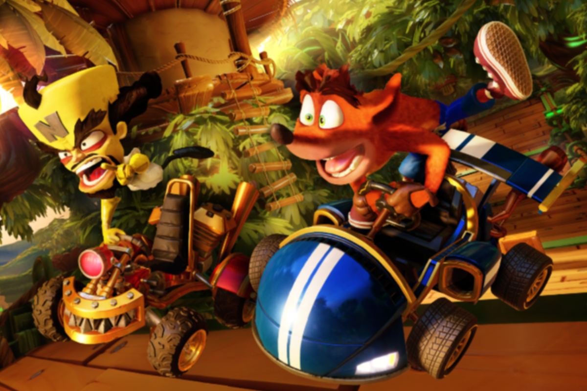 crash team racing cruza las pantallas