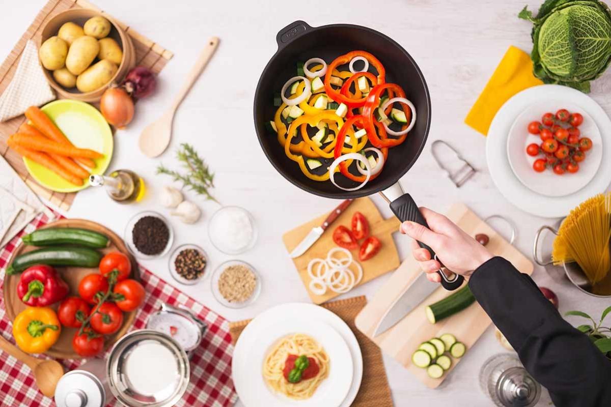 menaje para una cocina saludable y creativa
