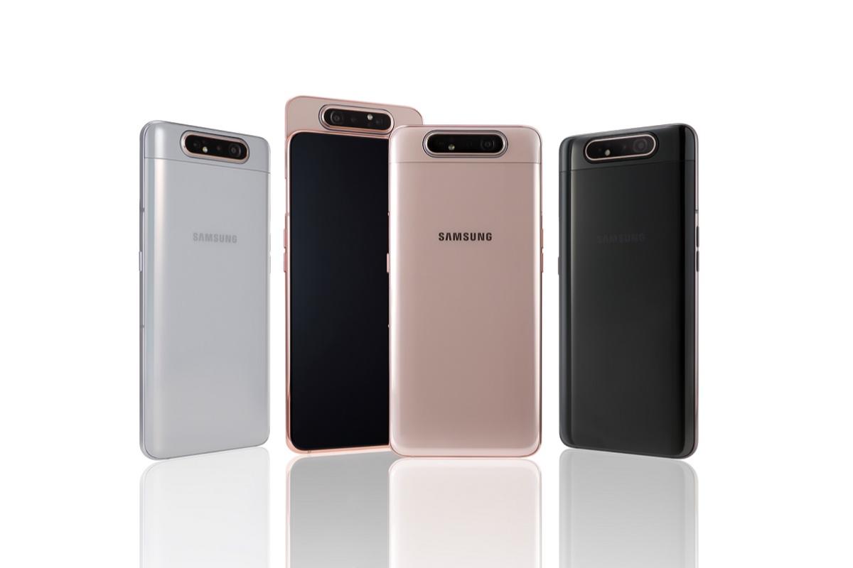 samsung anuncia la disponibilidad del galaxy a80 el smartphone de la generacin z