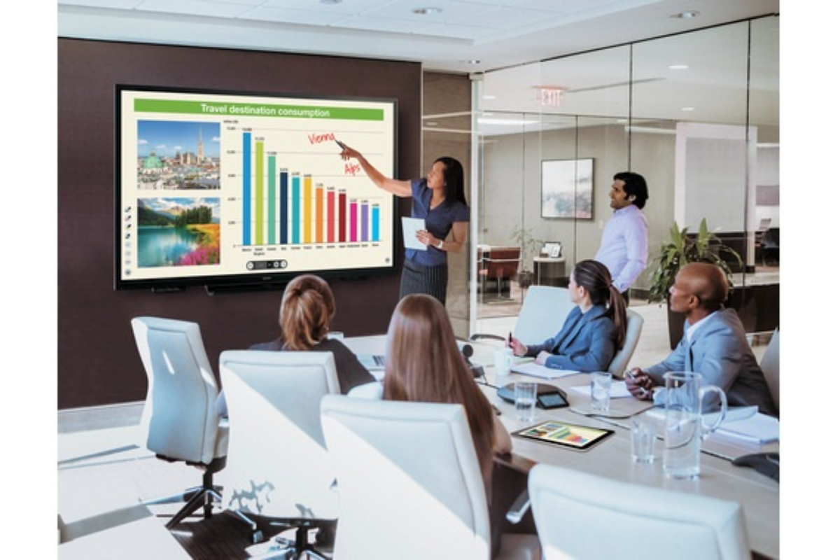 sharp muestra 100 innovaciones pensadas para smart office