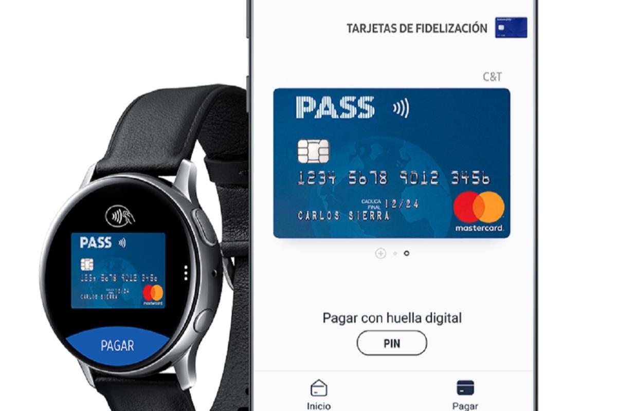 la tarjeta pass de carrefour se integra en el servicio de pago mvil samsung pay
