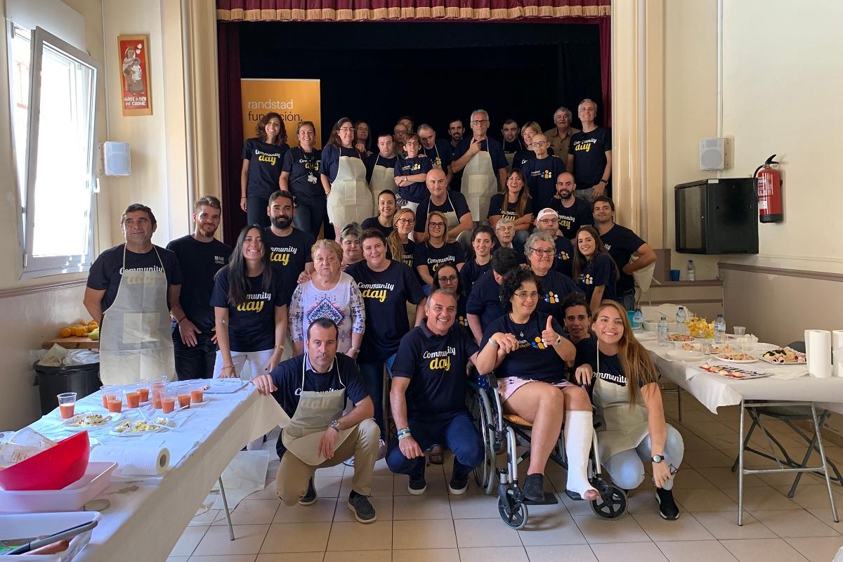 empleados de whirlpool espaa celebran su 2 community day cocinando mano a mano con la asociacin aspanin