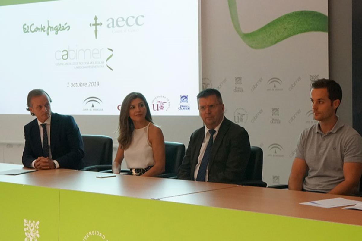 el corte ingls financia un nuevo proyecto de la aecc sobre terapia hormonal contra el cncer de mama