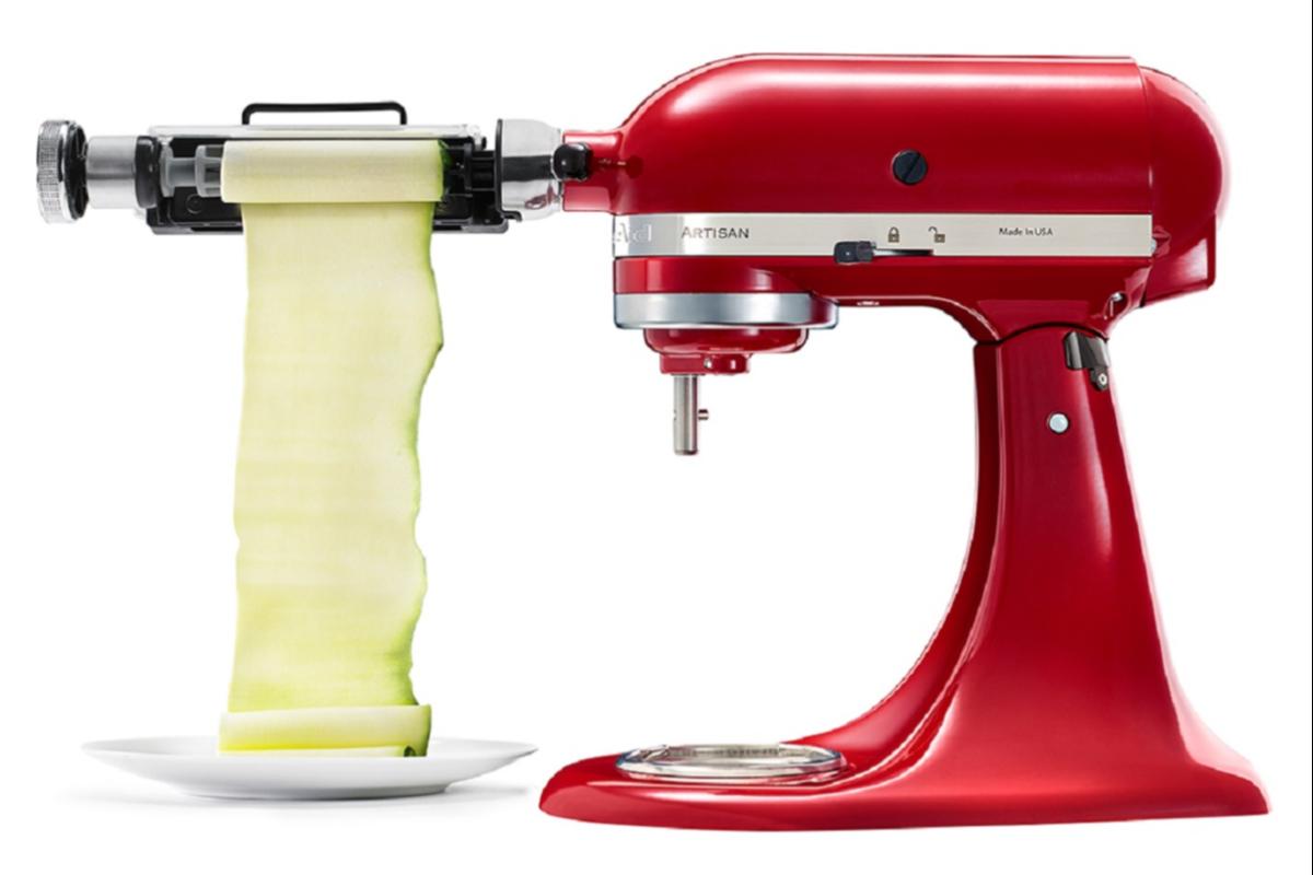 kitchenaid ampla su gama de accesorios para los robots de cocina