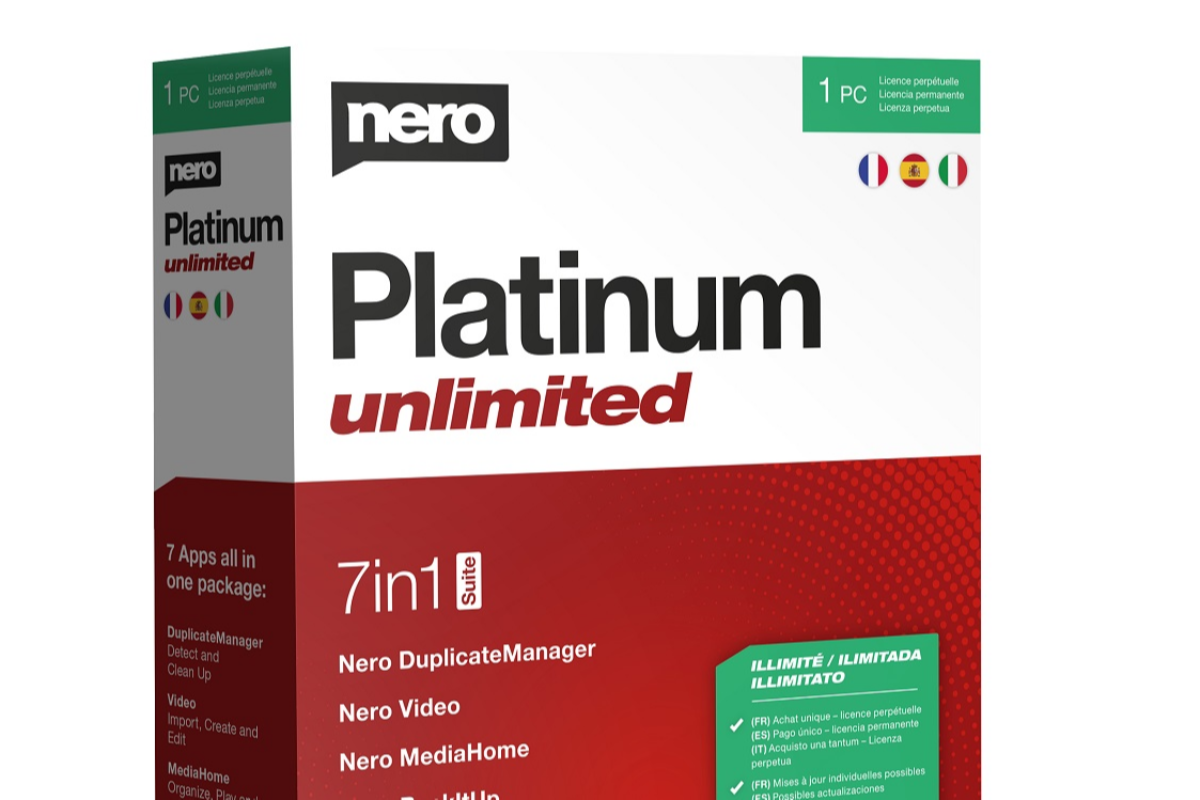 el nuevo nero platinum ahora en dos potentes versiones