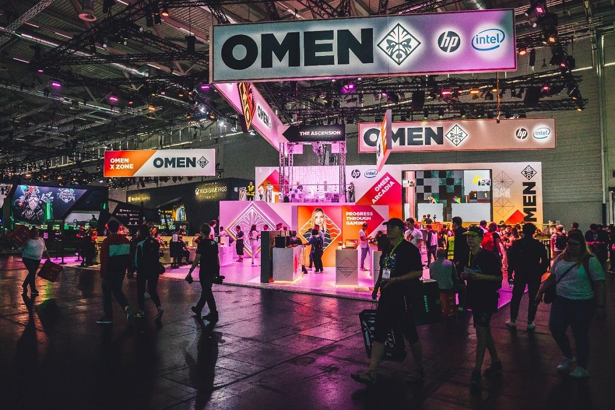 omen by hp participa en la madrid games week con sus nuevos equipos gaming