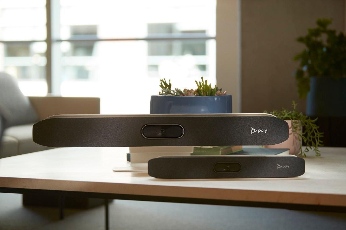 poly presenta dispositivos de vdeo sumamente intuitivos para reuniones en remoto