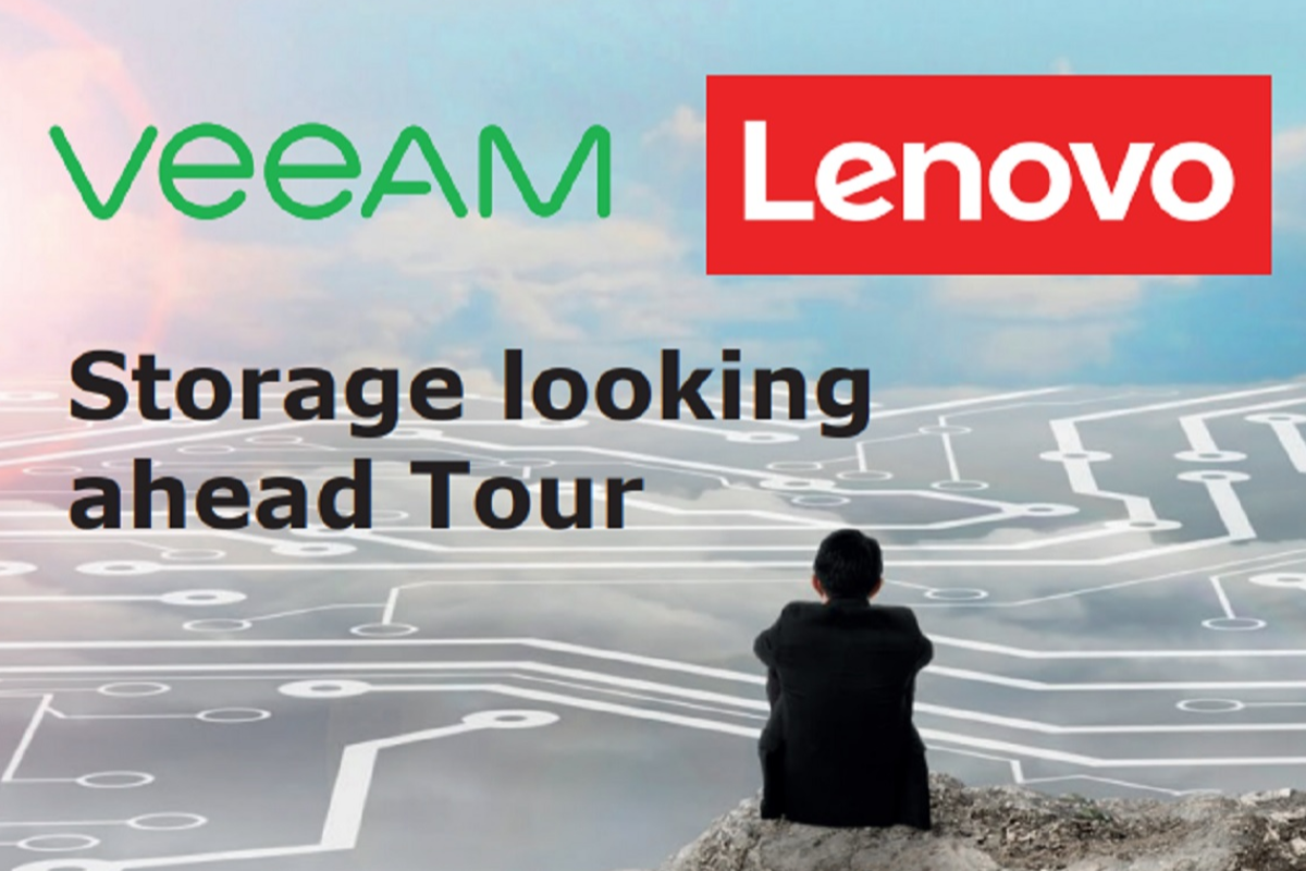 storage looking ahead tour el evento de lenovo amp veeam llega a espaa
