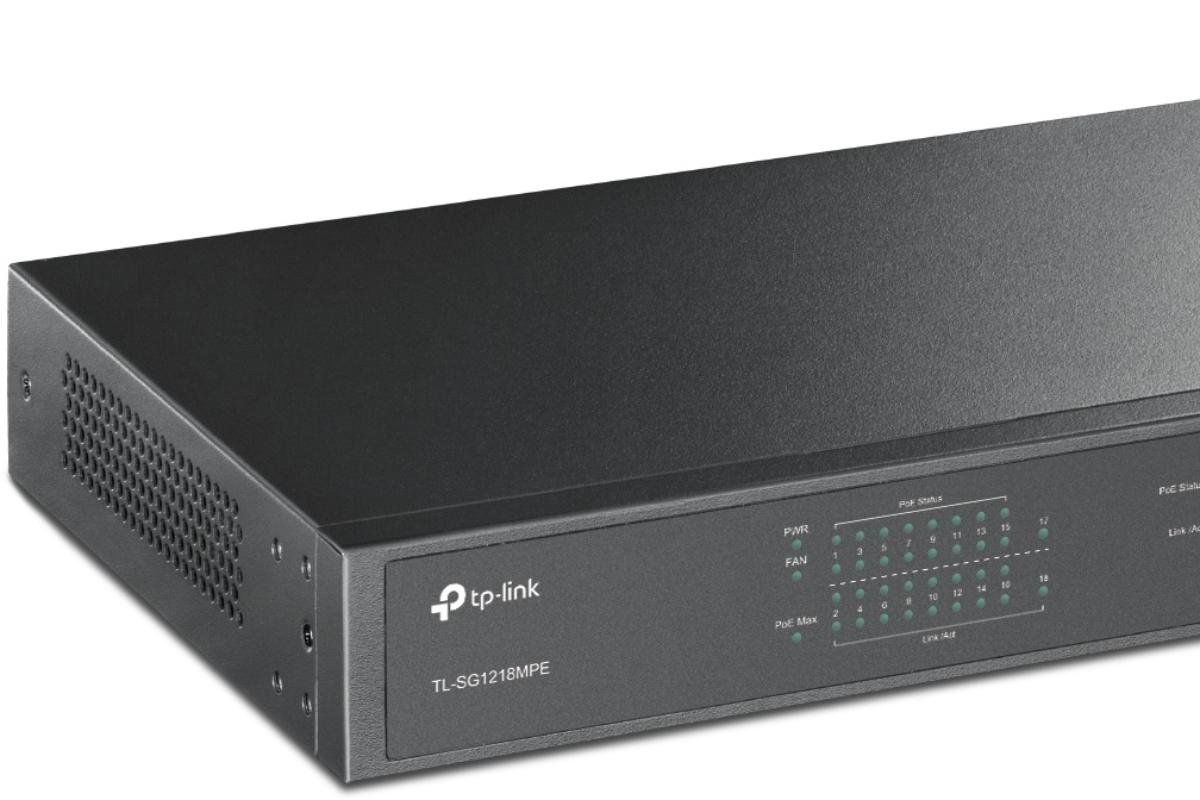 tplink lanza su switch ms potente con tecnologa poe
