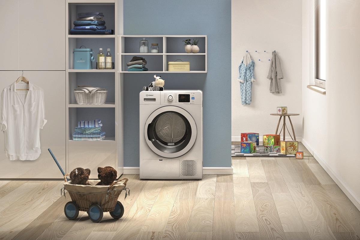 las nuevas secadoras pushgo de indesit vienen con un set de toallas de regalo