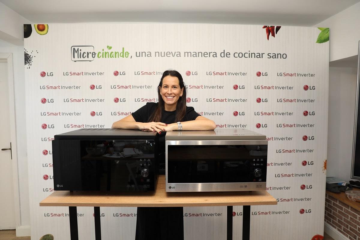 lg demuestra que la cocina saludable y rpida es posible con sus microondas