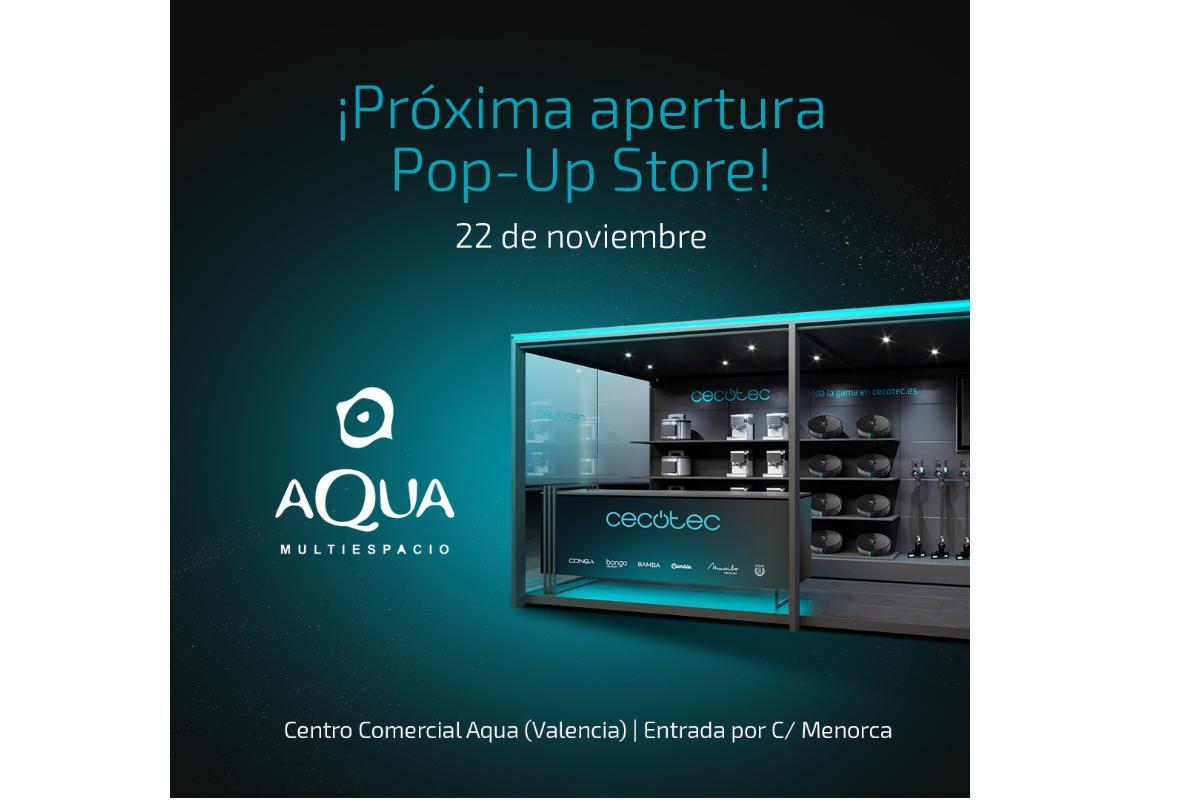 cecotec abre su primera popup store en valencia