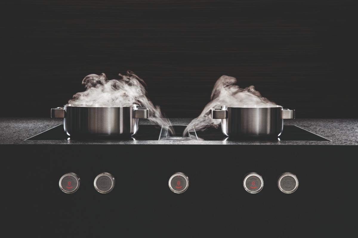 cocinar de una forma ms eficiente es posible con el extractor de superficie de bora