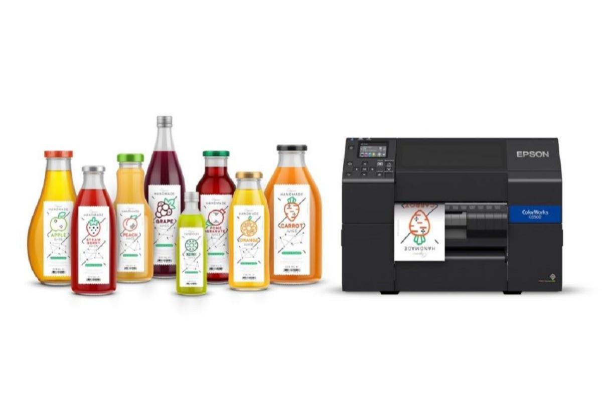 epson trae por primera vez a espaa sus soluciones ms innovadoras para el mercado del etiquetaje