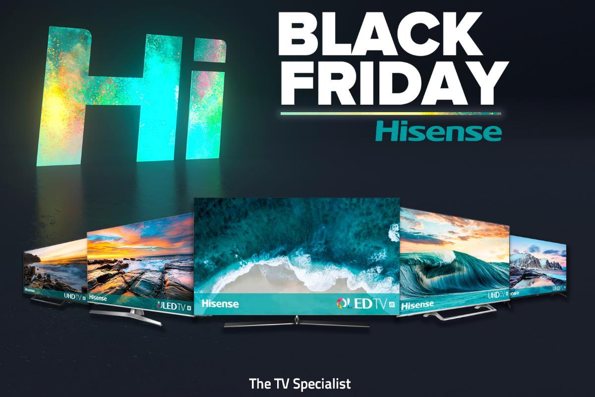 hisense se suma al black friday y ofrece ofertas exclusivas en sus productos estrella