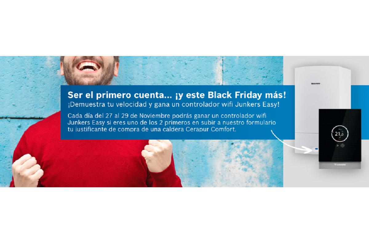 junkers premiar a los ms veloces y regalar productos eficientes durante black friday