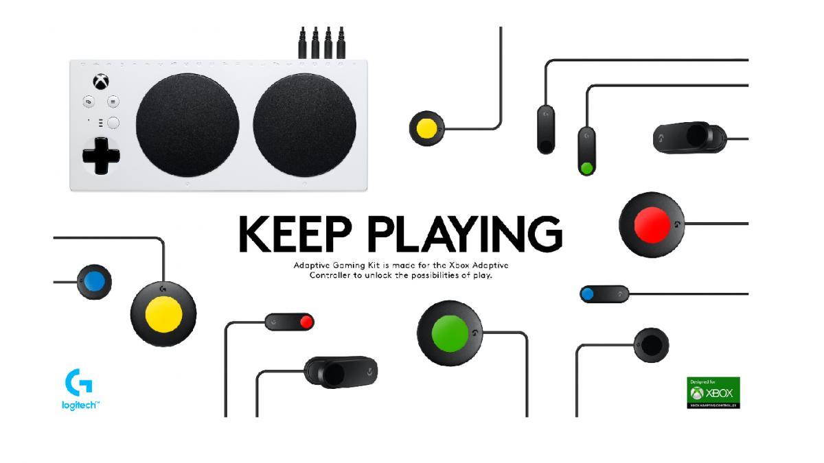 logitech disea un kit de accesorios para los gammers con necesidades de accesibilidad