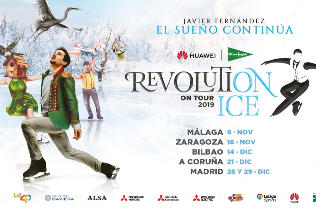 mitsubishi electric patrocinador oficial del gran espectculo revolution on ice tour 2019