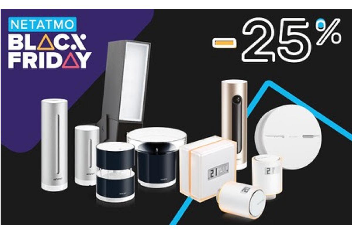 netatmo ofrece un 25 de descuento en sus productos inteligentes en el black friday