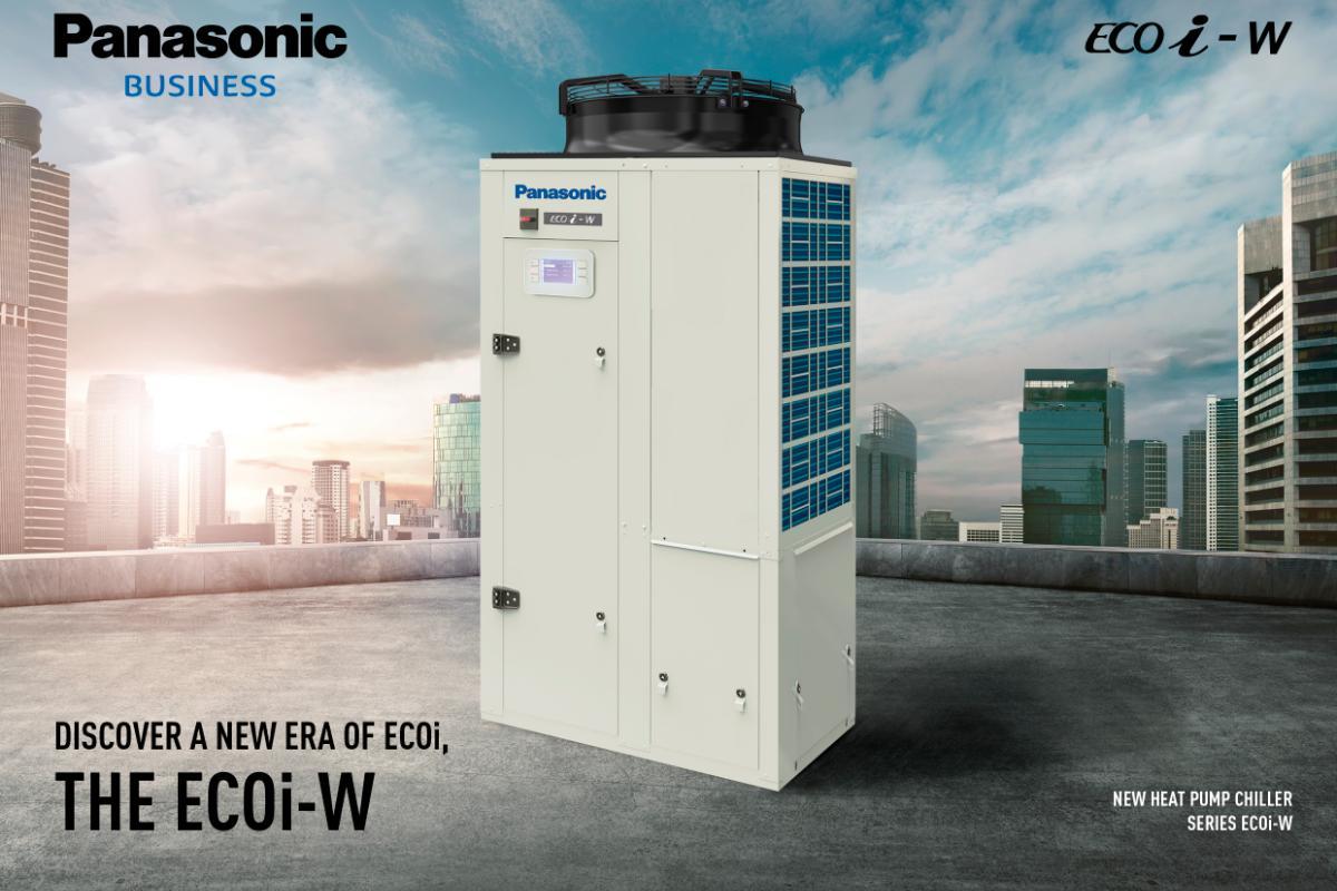 panasonic lanza ecoiw la nueva serie de chillers con gran eficiencia energtica