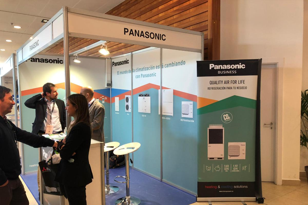 panasonic presenta las novedades de refrigeracin en el congreso de ingeniera de instalaciones aci